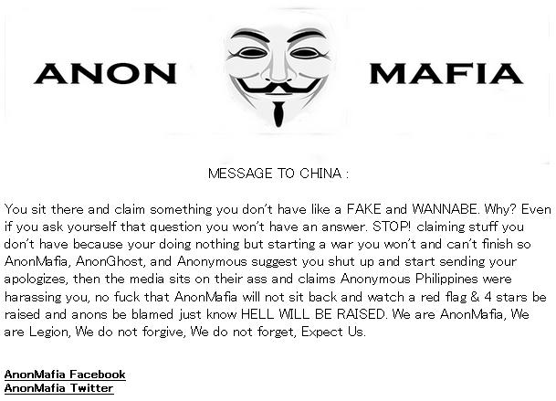 AnonMafiaOpChina